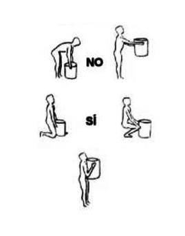 Como levantar peso correctamente para no dañar la espalda