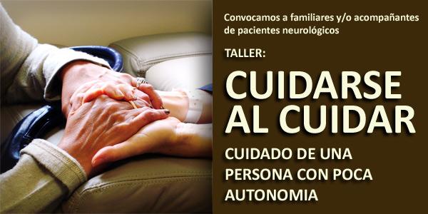 Taller cuidarse al cuidar para familiares y acompañantes de pacientes neurológicos en rehabilitación - Fisiohidro - Montevideo - Uruguay